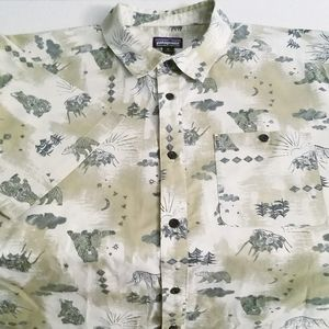 Patagonia Hawaiian Wilderness Short Sleeve Shirt